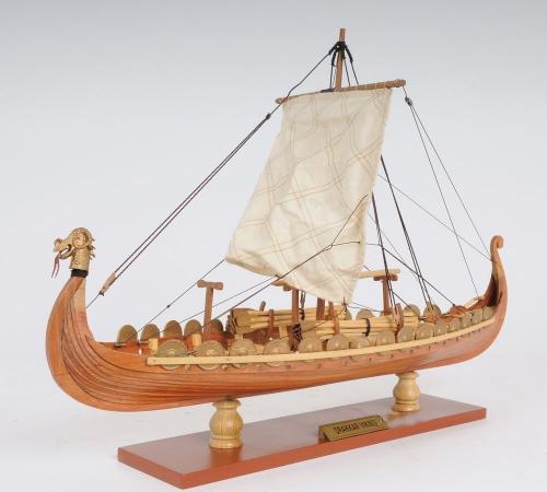 Viking Boat Model