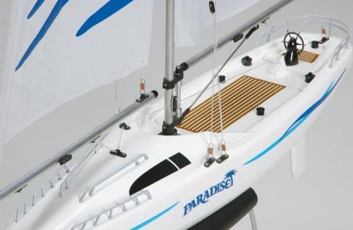 Remote Control Sailboat Model