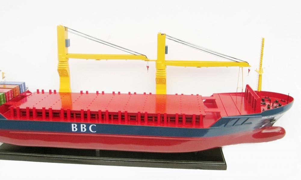 BBC Break Bulk Cargo Ship Model