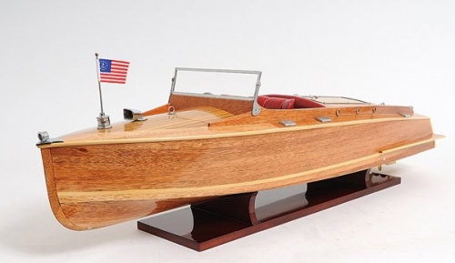 Chris Craft Runabout Speedboat Model, Chris Craft Model