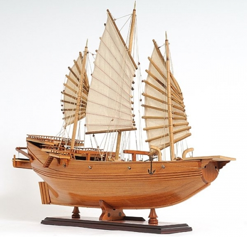 Chinese Junk Model Kit Chinese Junk Sailboat Model