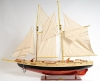 Bluenose II Painted Wood Yacht Sailboat