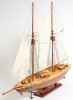 Bluenose II Wood Model Yacht