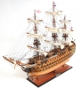HMS Victory Copper Hull Ship Model