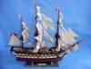 HMS Leopard Tall Ship Model Free Shipping