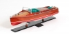 Chris Craft Runabout Painted Model Speed Boat