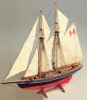 Bluenose II Sailboat Model Kit