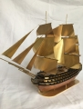 HMS Victory Custom Copper Ship Model