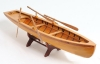 Boston Whitehall Tender Canoe Row Boat Wood Model