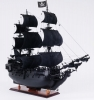 Black Pearl Pirate Wood Ship