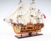 HMS Endeavour Open Hull Ship Model