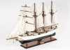 Esmeralda Painted Tall Ship Model