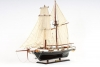 Harvey Baltimore Clipper Painted Tall Ship Model