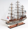 Amerigo Vespucci Painted Ship Model