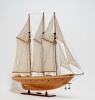 Atlantic Yacht Wood Model